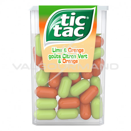 Tic Tac orange/citron 18g - 24 boîtes