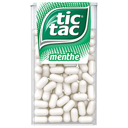 Tic Tac GM menthe 49g - 24 boîtes