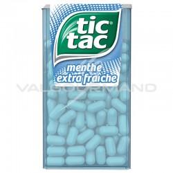 Tic Tac GM menthe extra fraîche 49g - 24 boîtes
