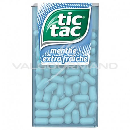 Tic Tac GM menthe extra fraîche 49g - 24 boîtes (soit 1.99€ pièce !)