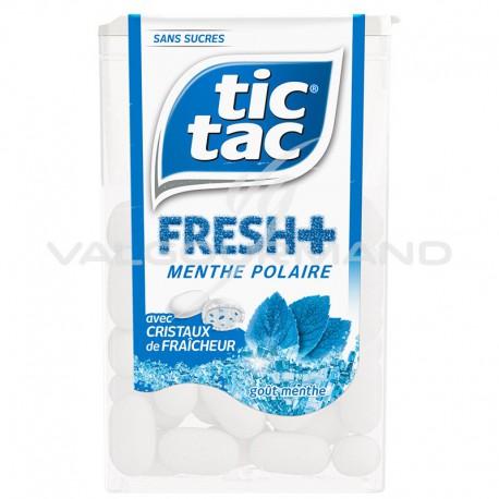 Tic Tac fresh + menthe polaire SANS SUCRES - 12 boîtes