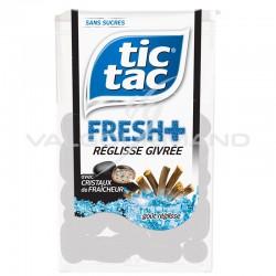 Tic Tac fresh + réglisse givré SANS SUCRES - 12 boîtes