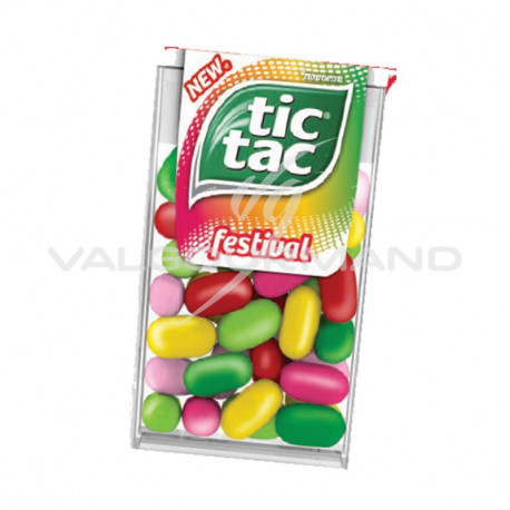Tic Tac Festival 18g - 24 boîtes