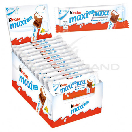 Kinder Maxi tablettes 42g - boîte de 24