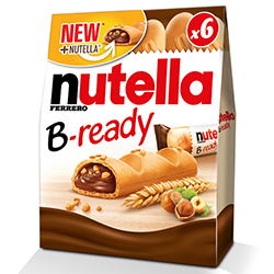 Nutella B-ready 132g - les 16 boîtes en stock