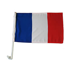 Drapeau Français spécial voiture - pièce en stock