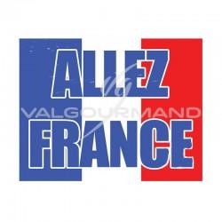 Drapeau Allez France - pièce en stock