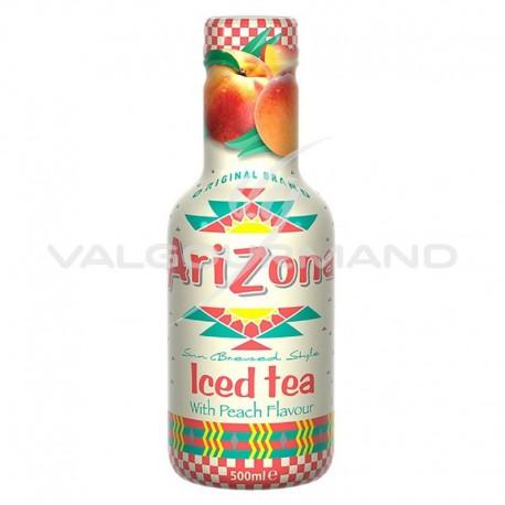 Arizona Iced Tea Pêche flavour Pet 50cl - 6 bouteilles