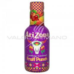 Arizona cowboy Fruit Punch Pet 50cl - 6 bouteilles en stock