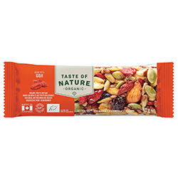 Taste of Nature Goji barres Bio 40g - la boîte de 16 en stock