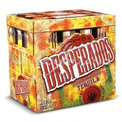 Desperados tequila 5.9° 33cl - pack de 12
