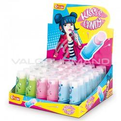 Kissys candy rouges à lèvres - boîte de 36