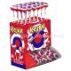 Sucettes Fiesta Kojak gum Cerise - boîte de 100
