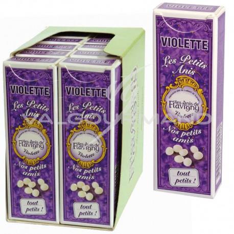 Flavigny Les Petits Anis Violette 18g - 10 étuis
