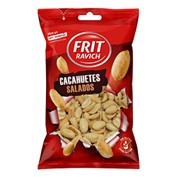 Cacahuètes salées 100g - 11 sachets