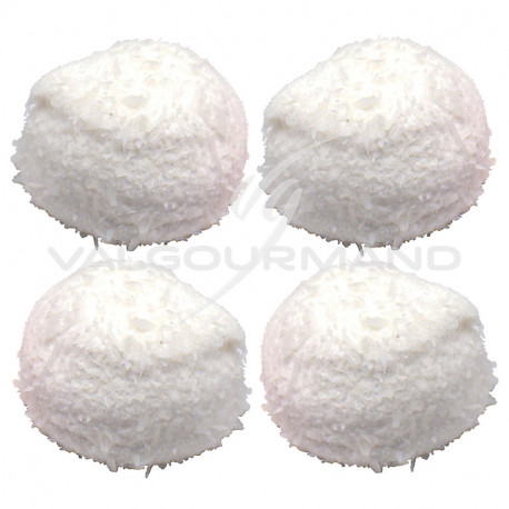 Boules coco guimauve blanches - 750g