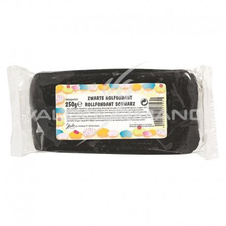 Fondant pâte à sucre déco NOIR - 250g TOP PROMO