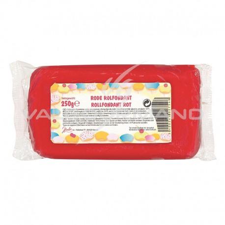 Fondant pâte à sucre déco ROUGE - 250g TOP PROMO