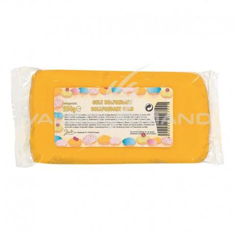 Fondant pâte à sucre déco JAUNE - 250g TOP PROMO