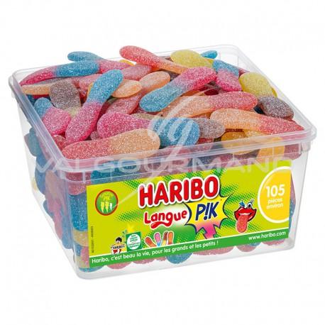 Langues acides Pik HARIBO - tubo de 105