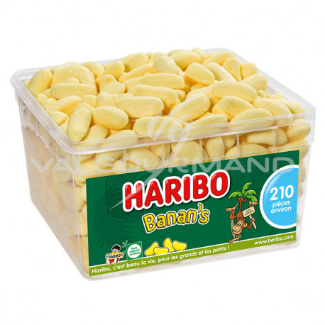 Bananes Banans HARIBO - tubo de 210