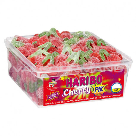 Cerises Cherry Pik HARIBO - tubo de 105