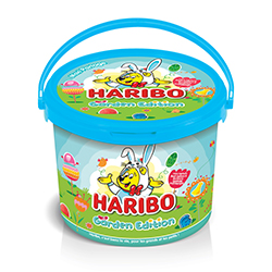 ~Seau Garden Edition HARIBO garni de sachets de confiserie - 760g