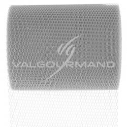 Tulle Déco Largeur 8CM GRIS - pièce
