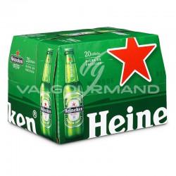 Heineken bouteille en verre 25cl - pack de 20 en stock