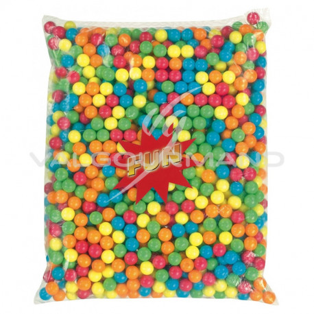 Billes de chewing gum petite taille 14mm - 2,5kg