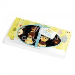 Happy ducks en chocolat décoré - Etui de 95g