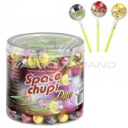 Sucettes Space chupi duo - tubo de 150