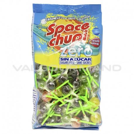 Sucettes Space chupi SANS SUCRES - sac de 100