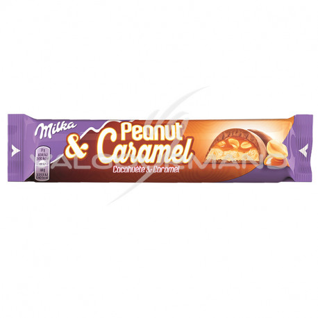 Peanut et caramel Milka 37g - boîte de 36