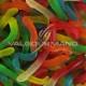 Vers gélifiés lisses colorés - 1kg