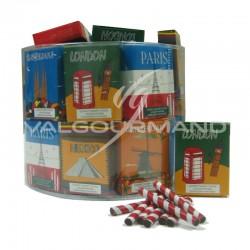 Crayons en chocolat au lait 20g - 40 paquets