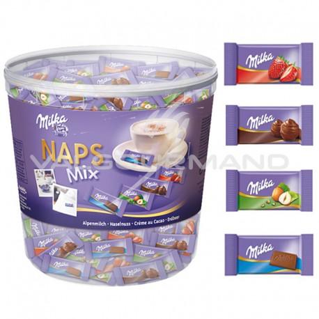 Naps mix Milka - tubo de 1kg