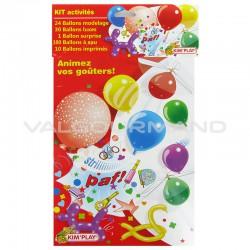 Ballons activités - le kit
