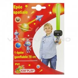 Epée spatiale gonflable 78cm - pièce en stock