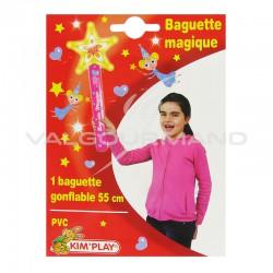 Baguette magique gonflable 55cm - pièce en stock