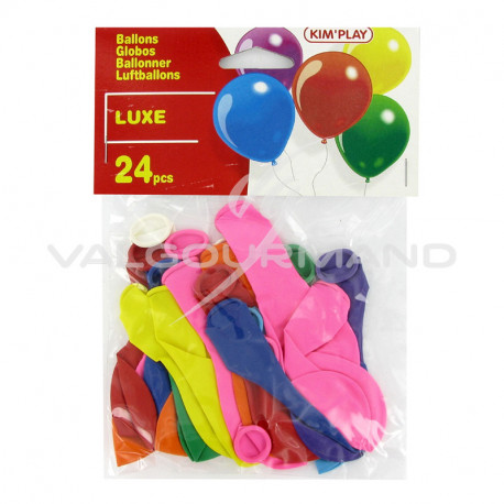 Ballons gonflables PM - 24 pièces