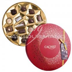 ~Boîte chapeau Assortiment de chocolats Belges - 400g