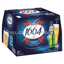 1664 Blonde 5.5° alcool 25cl - pack de 20