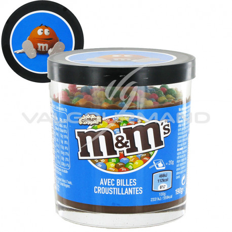 Pâtes à tartiner M&M'S Crispy 190g - les 6 pots