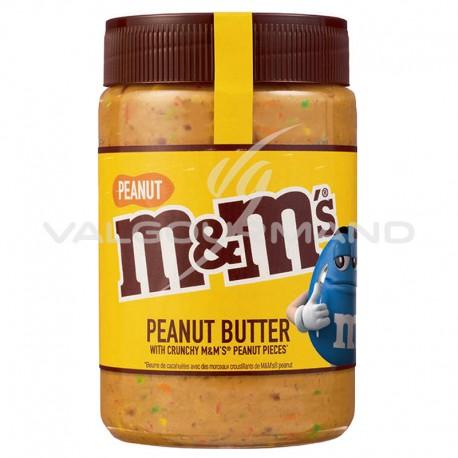 Pâtes à tartiner M&M's peanut butter 320g - les 6 pots