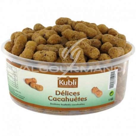 Délices cacahuètes Kubli - boîte de 1kg