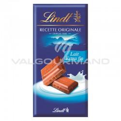 Chocolat au lait extra Lindt 110g - 20 tablettes