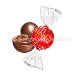 Boules Lindor - chocolat lait - 500g en stock