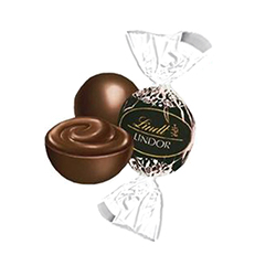 Boules Lindor - chocolat noir - 500g