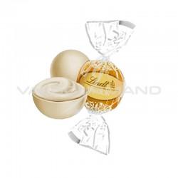 Boules Lindor - chocolat blanc - 500g en stock
